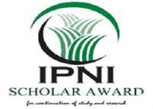 International Plant Nutrition Scholar Award