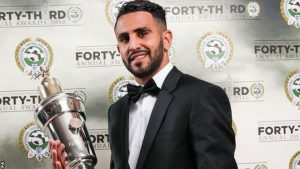 RiyadMahrez becomes first African footballer to win PFA Player of the Year