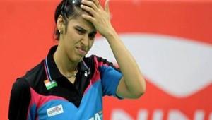 Saina sinks to World No