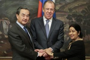 Sushma Swaraj visit to Iarn and Moscow