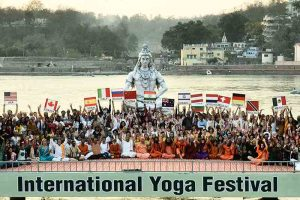 The three day Curtain Raiser International Yoga Fest inaugurated by Shri Shripad Yesso Naik