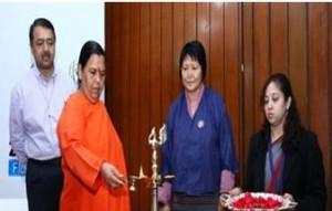 Uma Bharti inaugurates Water Films Festival