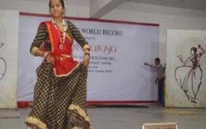 Varanasi Kathak dancer breaks world record