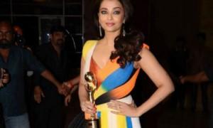 AishwaryaRaiBachchan won Global Indian of the Year 2016 award