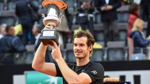 Andy Murray clinges Rome title with victory over Novak Djokovic