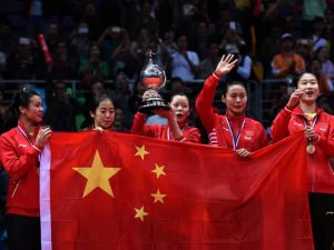 China beats South Korea to win Uber Cup 2016 badminton final