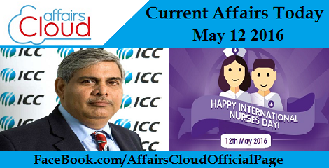 Current Affairs Today-may-12-2016