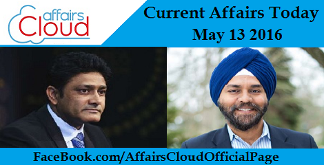 Current Affairs Today-may-13-2016