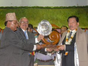 Sikkim CM Chamling honoured with Nepal's literary award