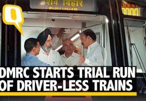 Trial run of Delhi Metro's new 'driver-less' train begins