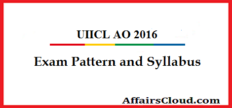 UIICL-AO-Exam-pattern-and-Syllabus
