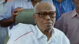 Veteran CPI(M) leader K Anirudhan passes away