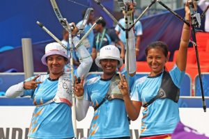Women Archers Deepika, Bombayla, Laxmirani named for 2016 Rio Olympics