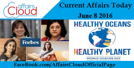Current Affairs Today-8-6-16