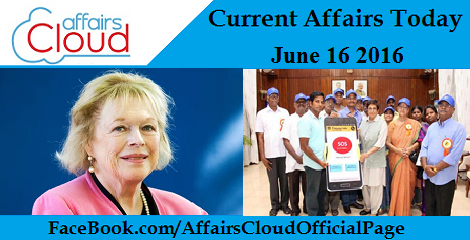 Current Affairs Today-june-16-2016