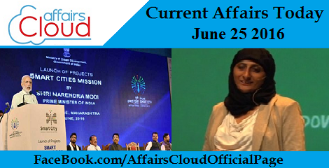 Current Affairs Today-june-25-2016