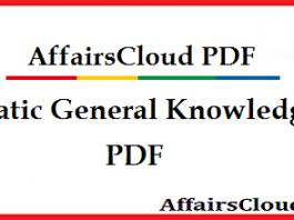 General Knowledge PDF