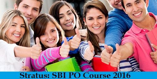 Stratus - SBI PO Course 2016