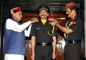Lt. Anurag Thakur joins Territorial Army after clearing SSB
