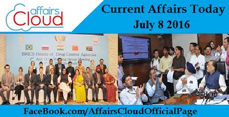 Current Affairs Today-july-8-2016