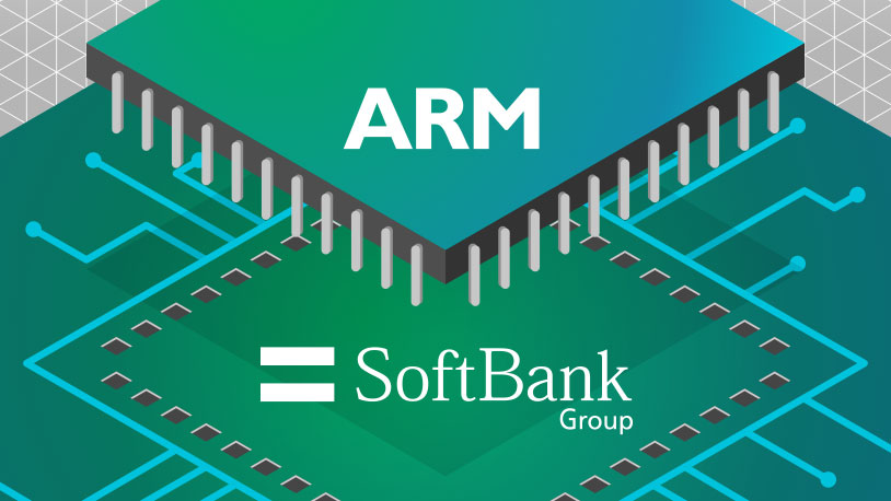 Softbank to acquire ARM Holdings