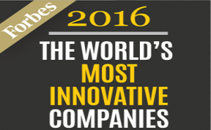 Forbes World Most Innovative Companies