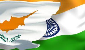 India & Cyprus Flag