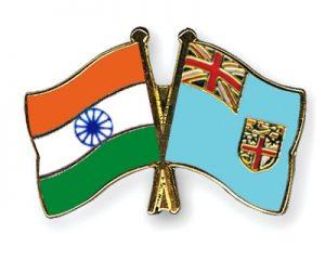 India , Fiji Flag