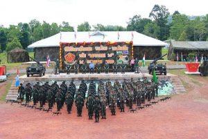 Indo-Thailand Military Exercise Maitree-2016
