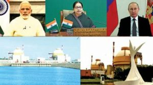 KKNPP is dedicated to the people of India by NArendra Modi and Vladimir Putin