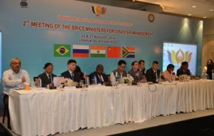 BRICS meeting on Disaster Risk Reduction in Udaipur