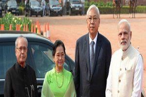 Myanmar President Visit to India