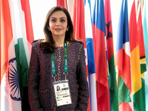 Nita Ambani becomes first Indian woman to be elected as IOC member