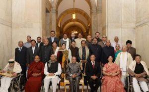 Presidential Award for Certificate of Honour and Maharshi Badrayan Vyas Samman 2016