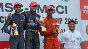 Vikash Anand wins premier title in National Racing
