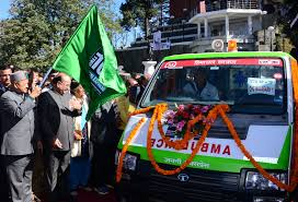 Himachal Health Minister launches ambulance mobile app