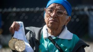 100-Year-Old Runner from India Gets Gold Medal