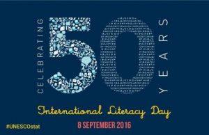 50th World Literacy Day 2016