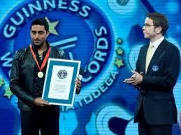Abhishek Bachchan broke Will Smith's world record