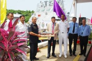 GSL Handed Over First Fast Patrol Vessel for Mauritius Government