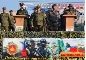India & Russia Military Excercise