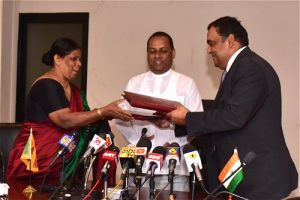 India and Sri Lnaka signed MoU