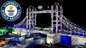 Guinness Record Set For World's Largest LEGO Sculpture