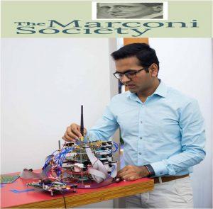 Dinesh Bharadia won Marconi Society honour