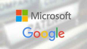 Microsoft, Google