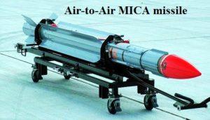 MICA missile