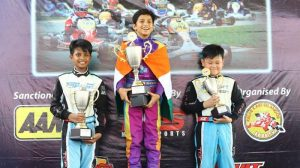 First Indian to win Asian Karting Championship