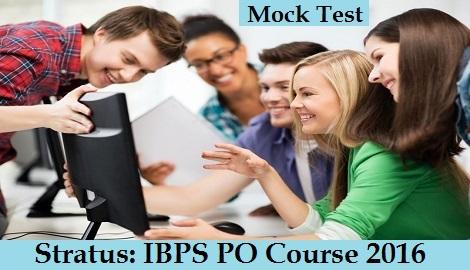 stratus-ibps-po-course-2016-mock-test