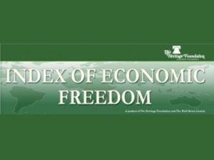 World Economic Freedom Index 2016