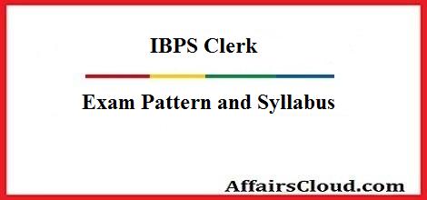 ibps-clerk-ep-syllabus